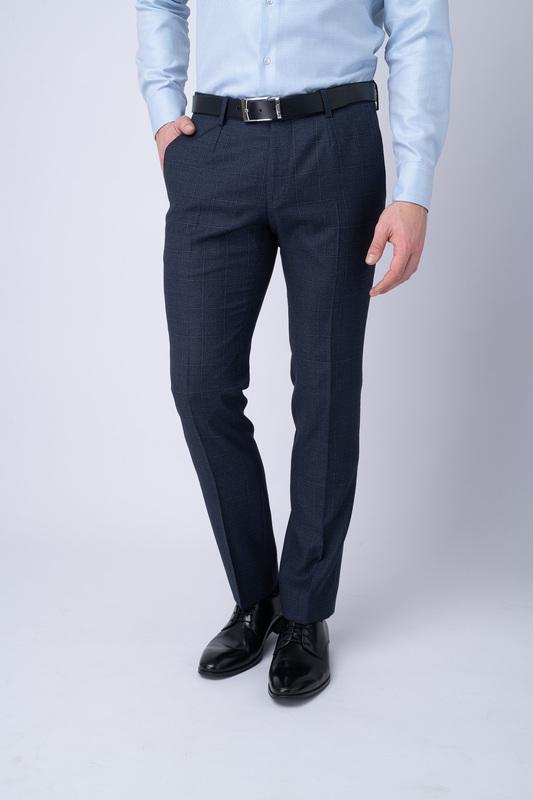 Oblekové kalhoty S nenápadným 3D vzorem