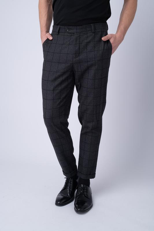 Oblekové kalhoty Z vlny s příměsí kašmíru