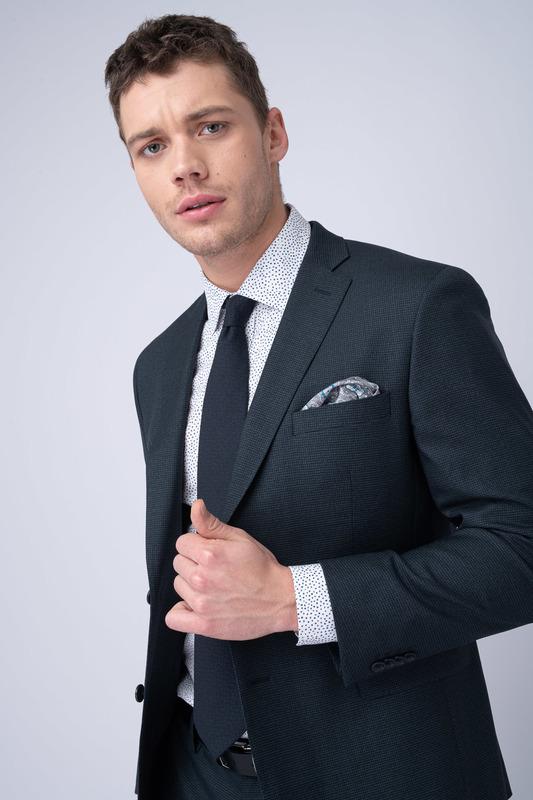 Oblekové sako Ze 100% vlny od Vitale Barberis Canonico