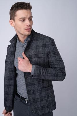 Jersey jacket Ze směsi vlny a bavlny