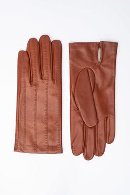 Pánské rukavice Koňakové barvy