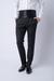 Smokingové kalhoty černé barvy s lampasy