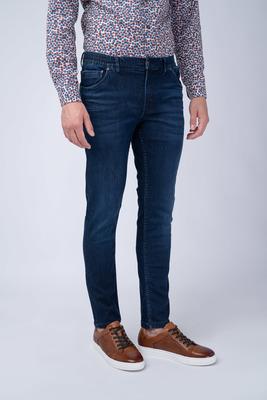 Tmavě modré džíny V extra slim střihu