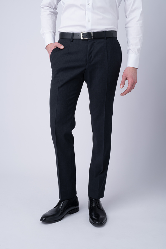Oblekové kalhoty Tmavě modré barvy