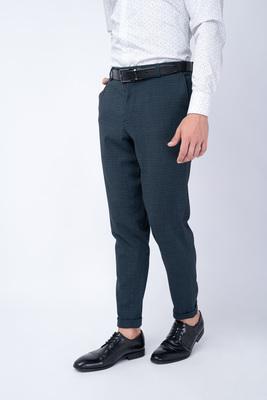 Oblekové kalhoty V odstínech zelené a černé