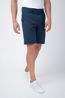 Tmavě modré šortky V extra slim střihu