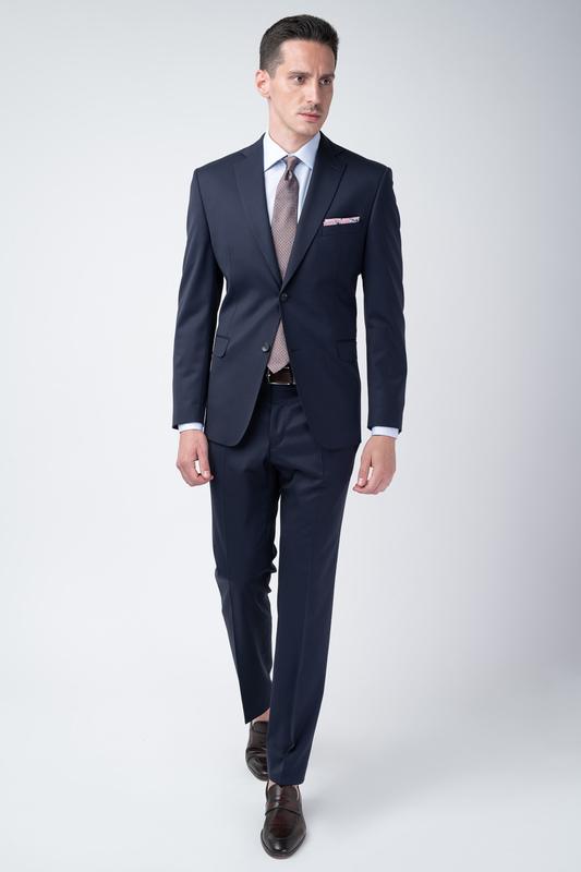 Pánský oblek Tmavě modré barvy