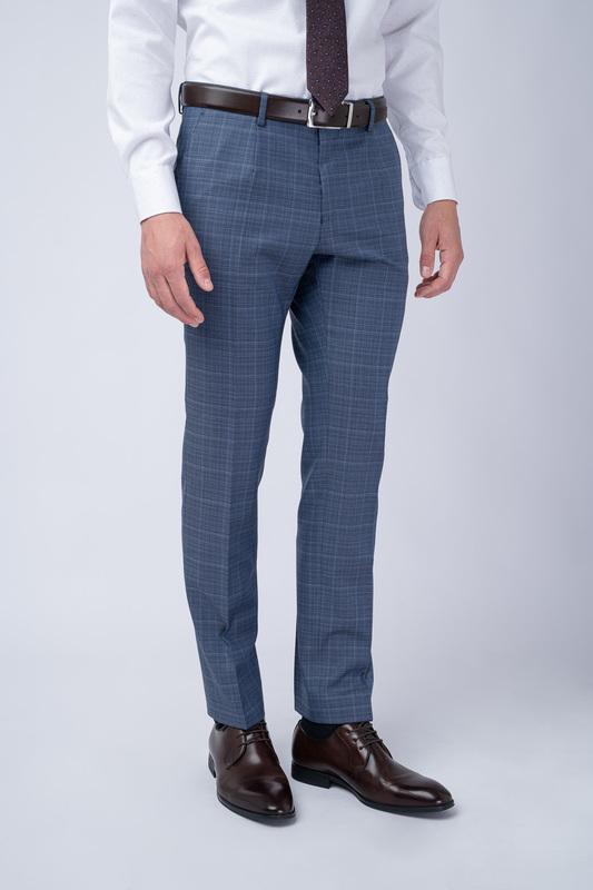 Oblekové kalhoty S nenápadným vzorem