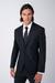 Oblekové sako čistě černé barvy