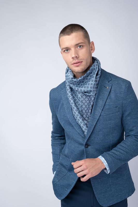 Jersey jacket Ze lnu a bavlny