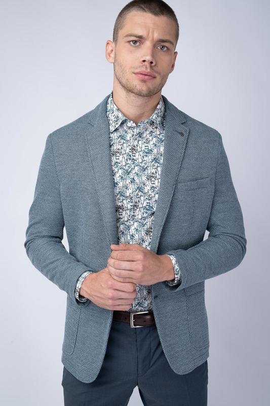 Jersey jacket S jemnou strukturou