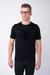 Černé triko S 3D motivem