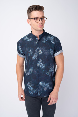 Volnočasová košile S výrazným vzorem
