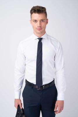 Bílá košile Ze 100% bavlny