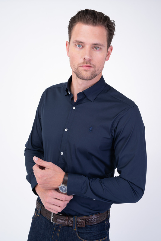 Neformální košile Tmavě modré barvy