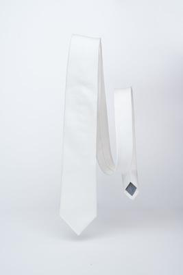 Slavnostní kravata Bílé barvy