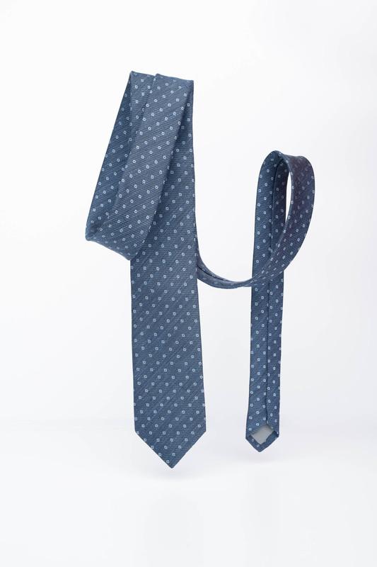 Pánská kravata Ze lnu a hedvábí