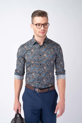 Neformální košile S výrazným vzorem