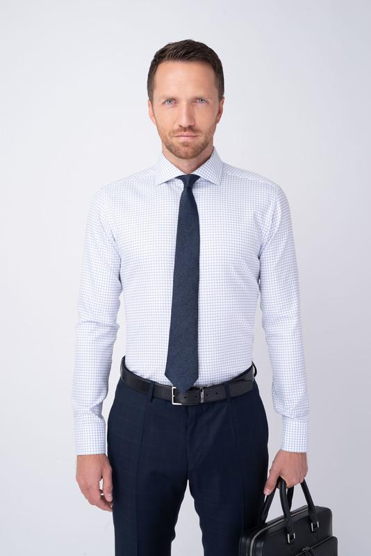 Formální košile S kostkovaným vzorem