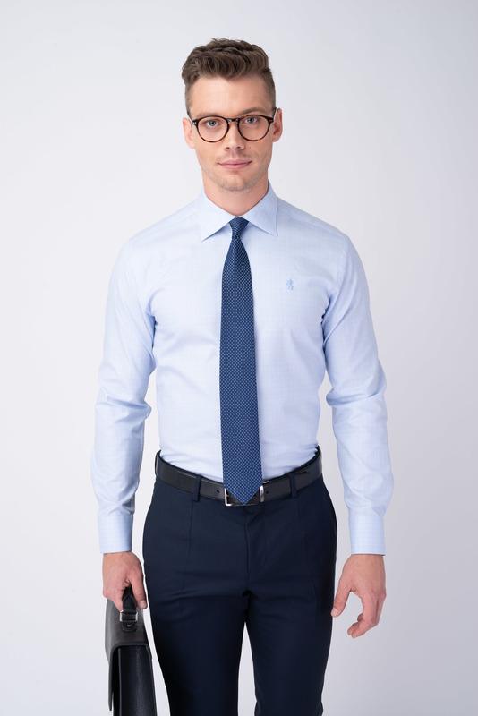Formální košile S nenápadným vzorem