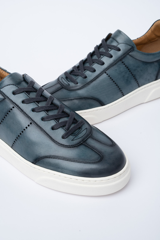 Modré sneakers Pro volný čas