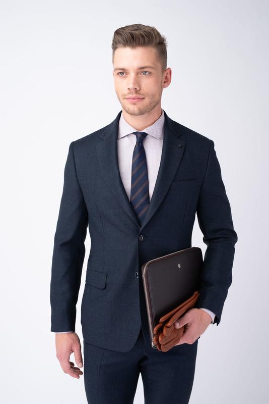 Oblekové sako Tmavě modré barvy