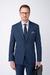 Tmavě modré oblekové sako Ze 100% vlny