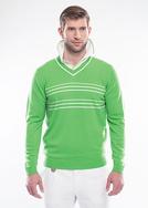 Pánský svetr golf , barva zelená