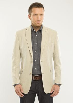 Pánské sako  regular, barva béžová
