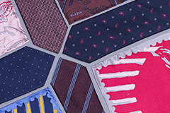 Kravaty a vreckovky: jednoducho patria k sebe