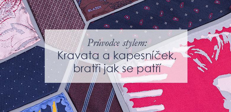 Průvodce stylem  Kravata a kapesníček eaf5b3f91f