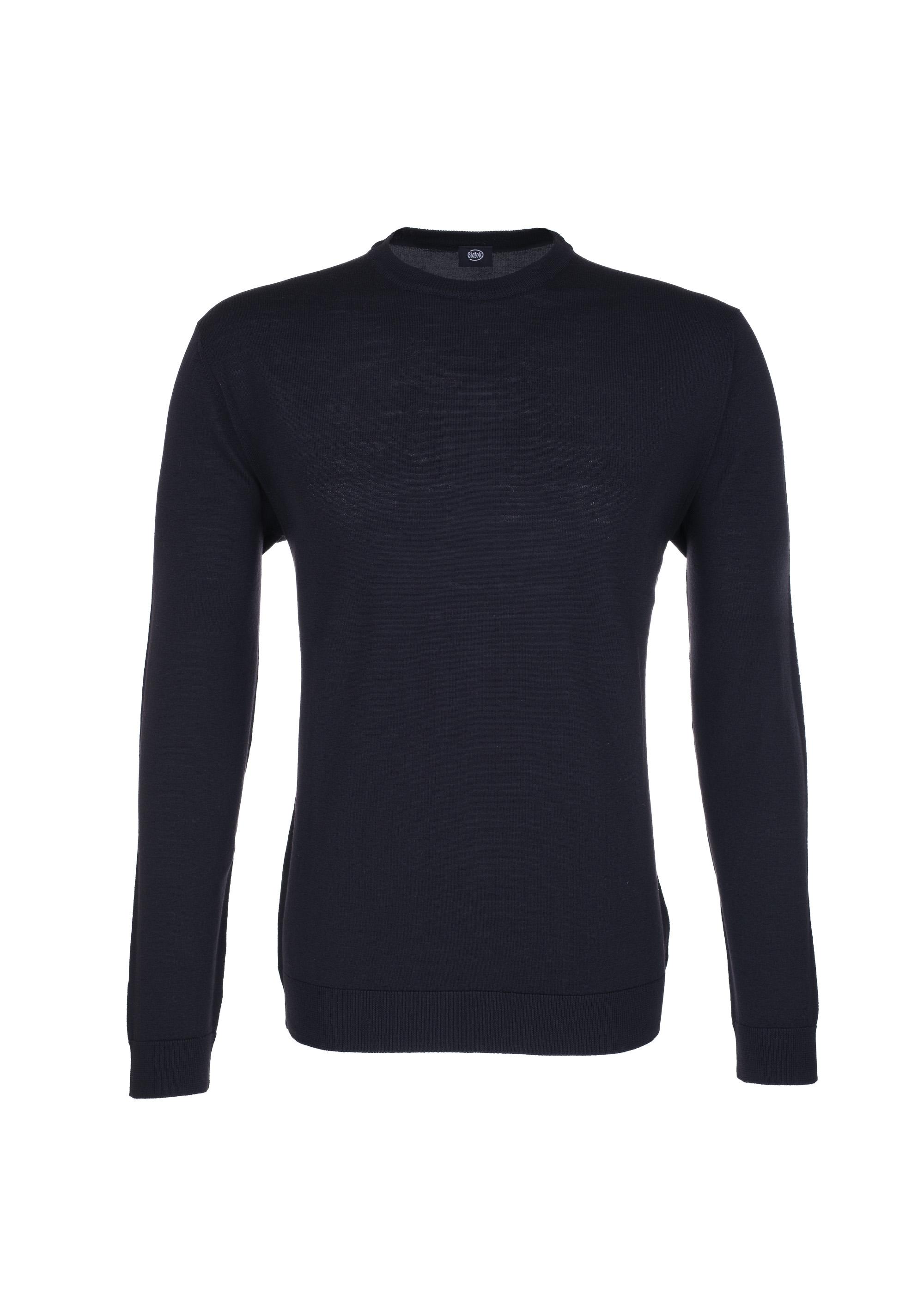Černý hladký svetr Blažek 5329c5c3ec
