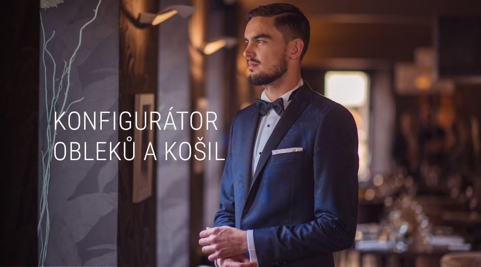 Konfigurátor obleků a košil