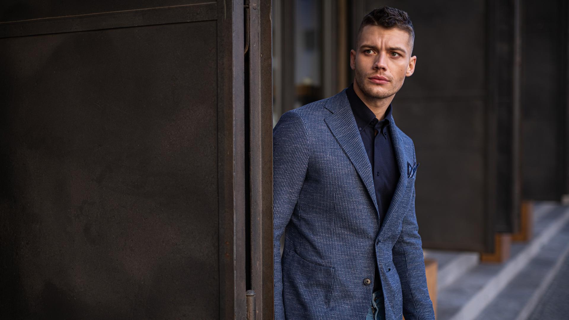 Krejčovství Blažek - obleky na míru - Fine checks and stripes