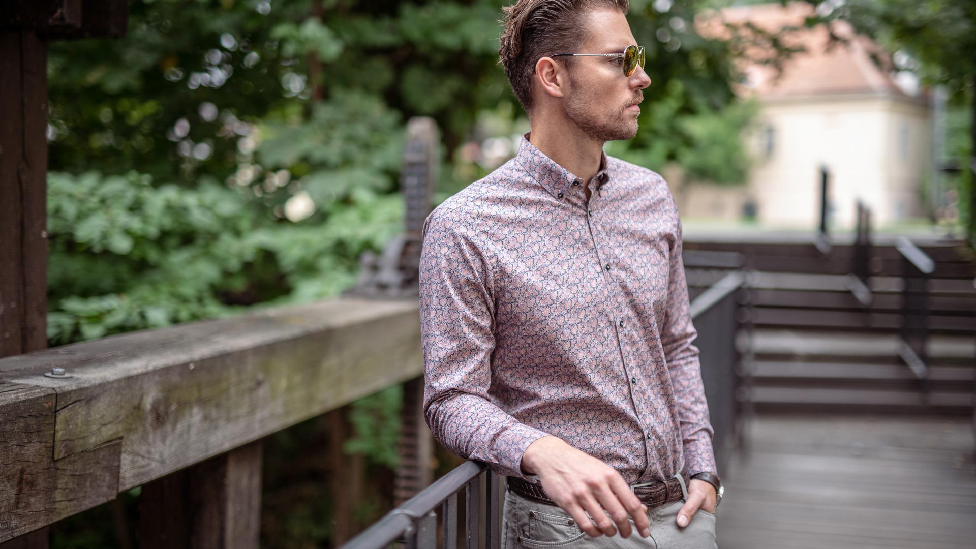 Strečové košile - Novinky kolekce podzim / zima