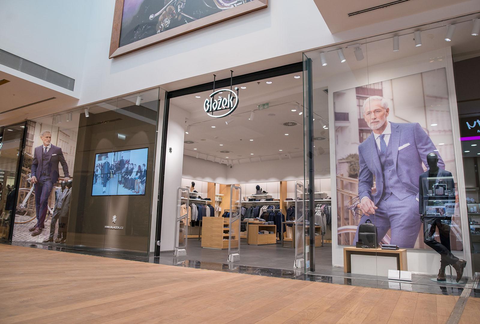 Navštivte nás v Centrum Chodov v krásném obchodě zrekonstruovaném podle nového shop conceptu Blažek.