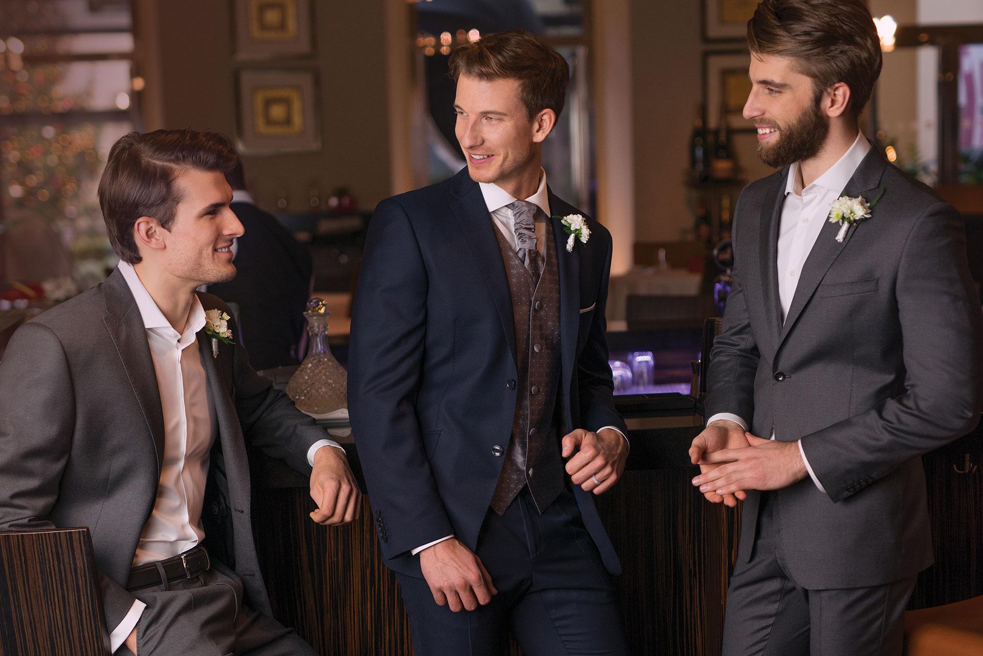 Krejčovství Blažek - Made to Measure - Svatební oblek